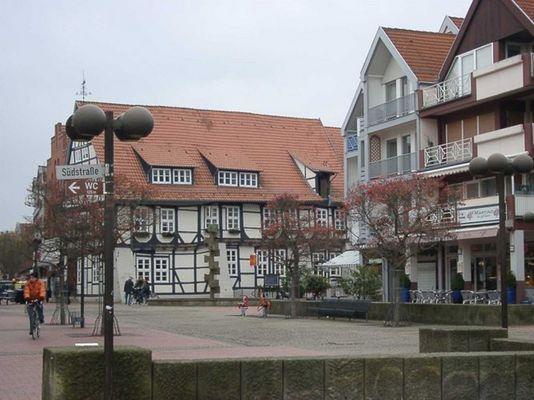 Stadt Wunstorf, Freitags ist hier der Wochenmarkt