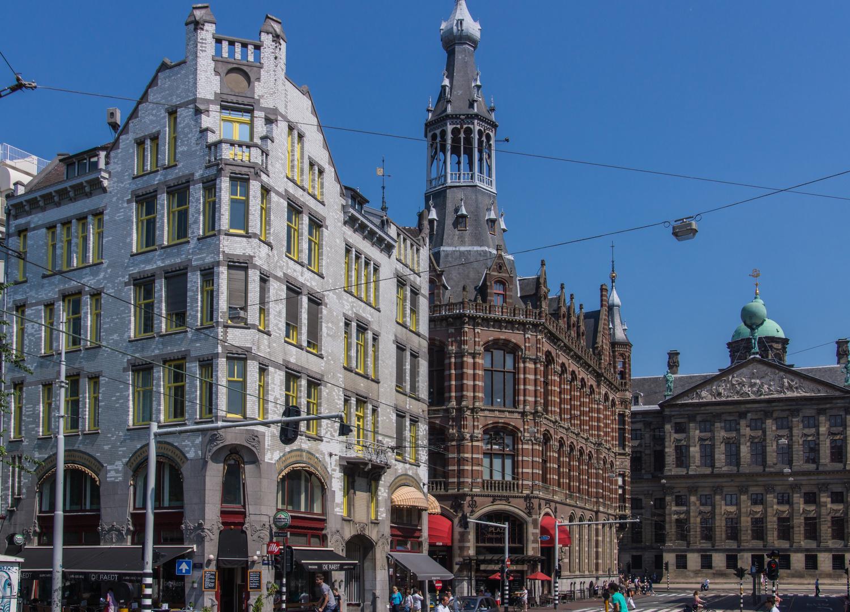 Stadtansicht - Amsterdam