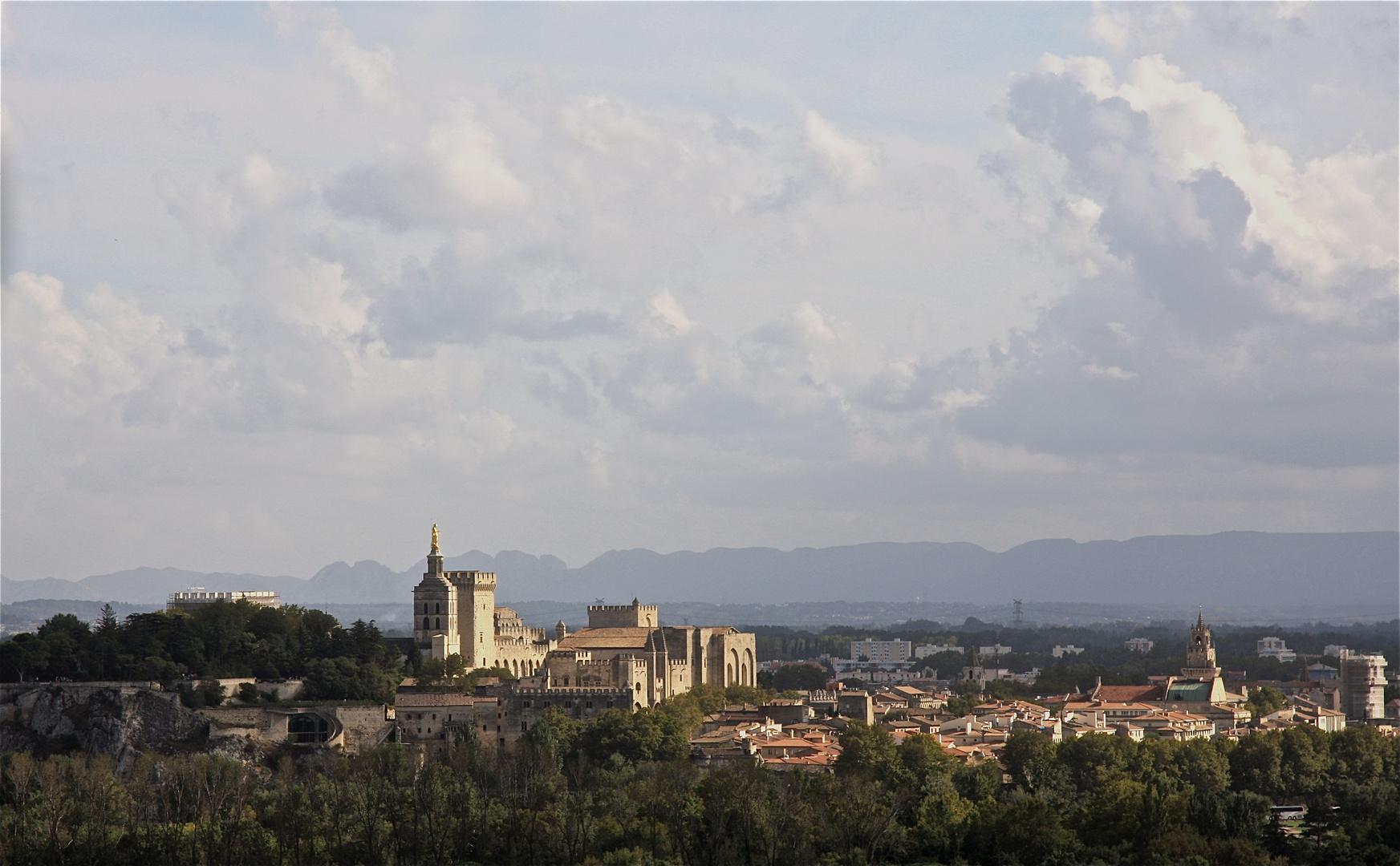 Stadtansicht Avignon