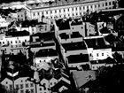 Stadtansicht, digital verfremdet