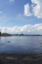 Stadtansicht mit Blick vom Schweriner See
