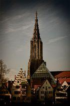 Stadtansicht Ulm mit Münster