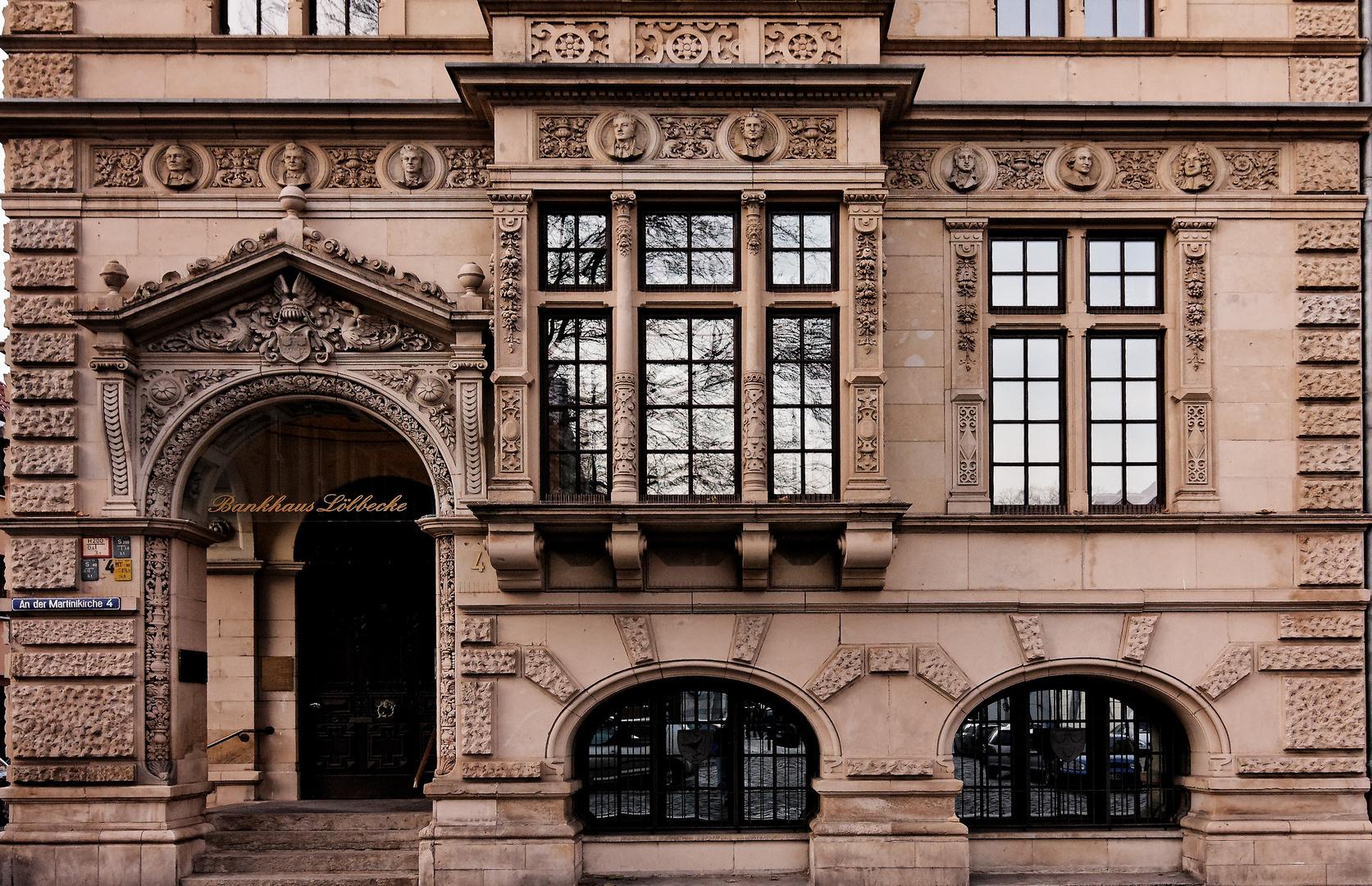 Stadtansichten - Bankhaus Löbbecke