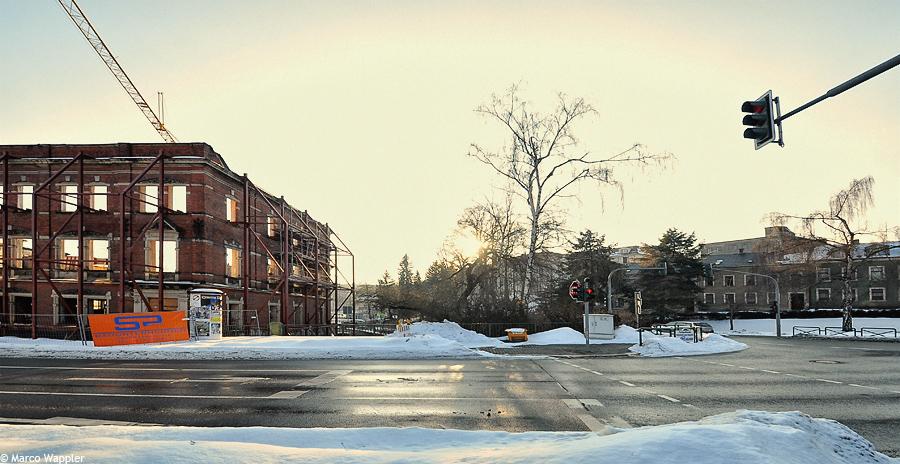 Stadtarchiv im Februar