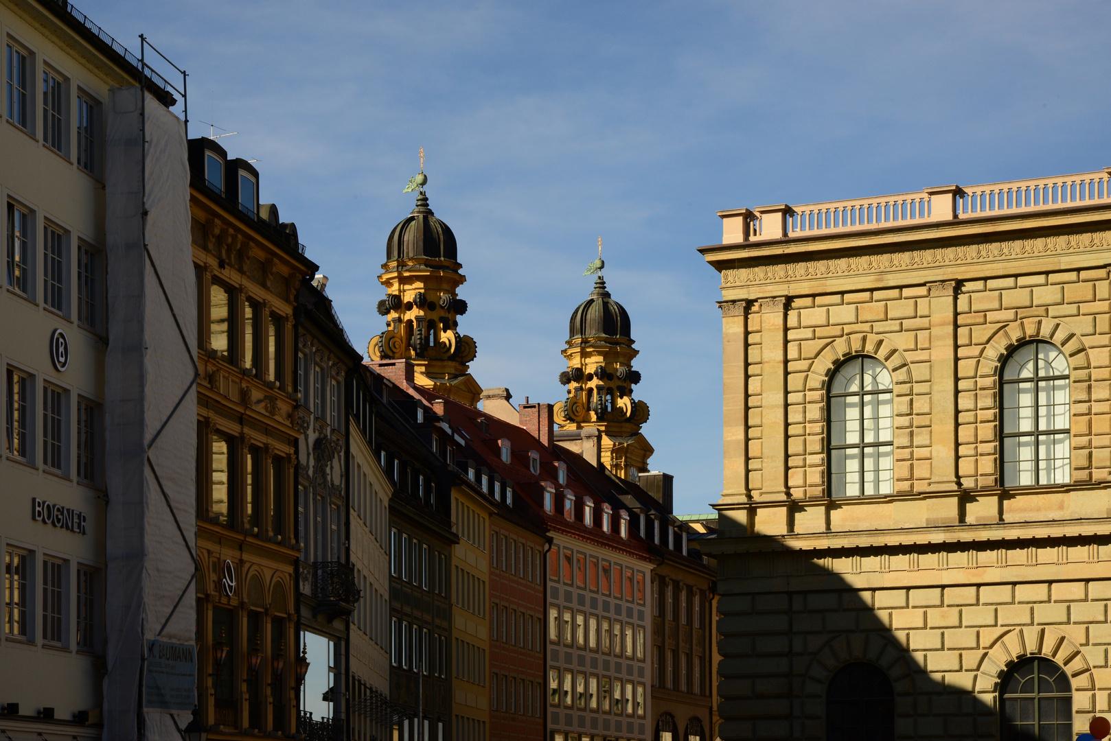 Stadtaussichten München