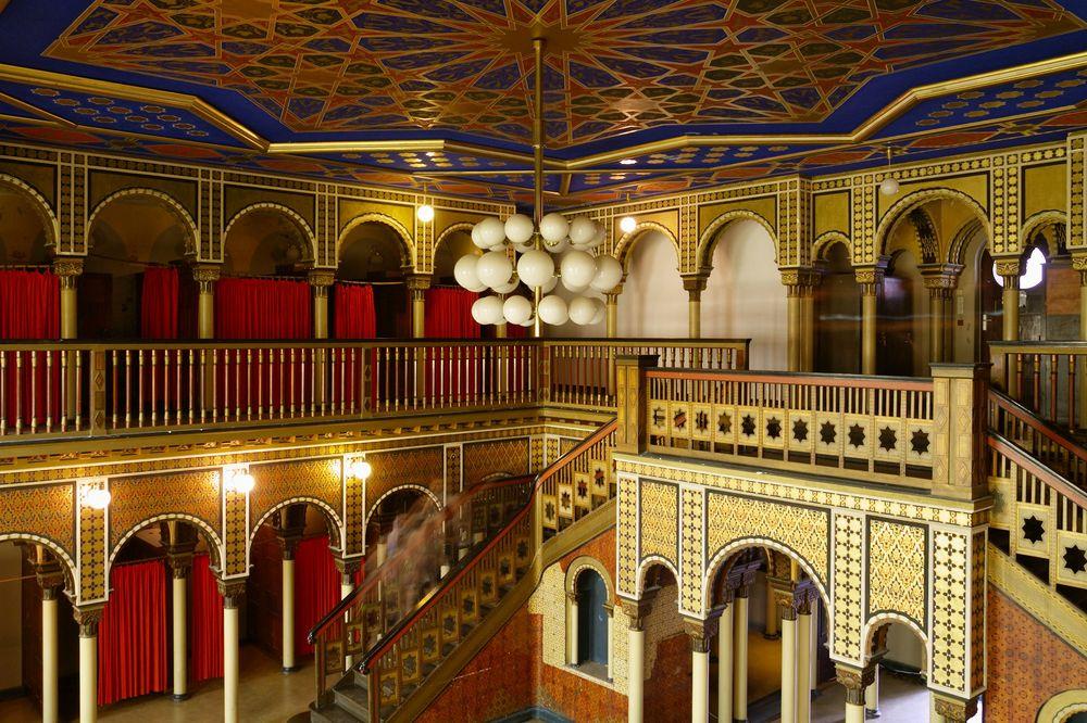 Stadtbad leipzig orientalische sauna foto bild architektur stadtlandschaft historisches - Sauna architektur ...