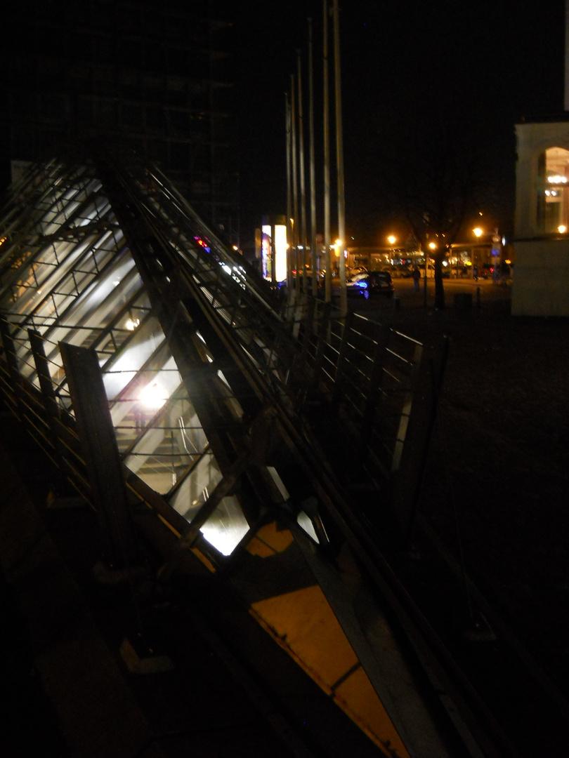Stadtbahnhaltestelle in Bielefeld