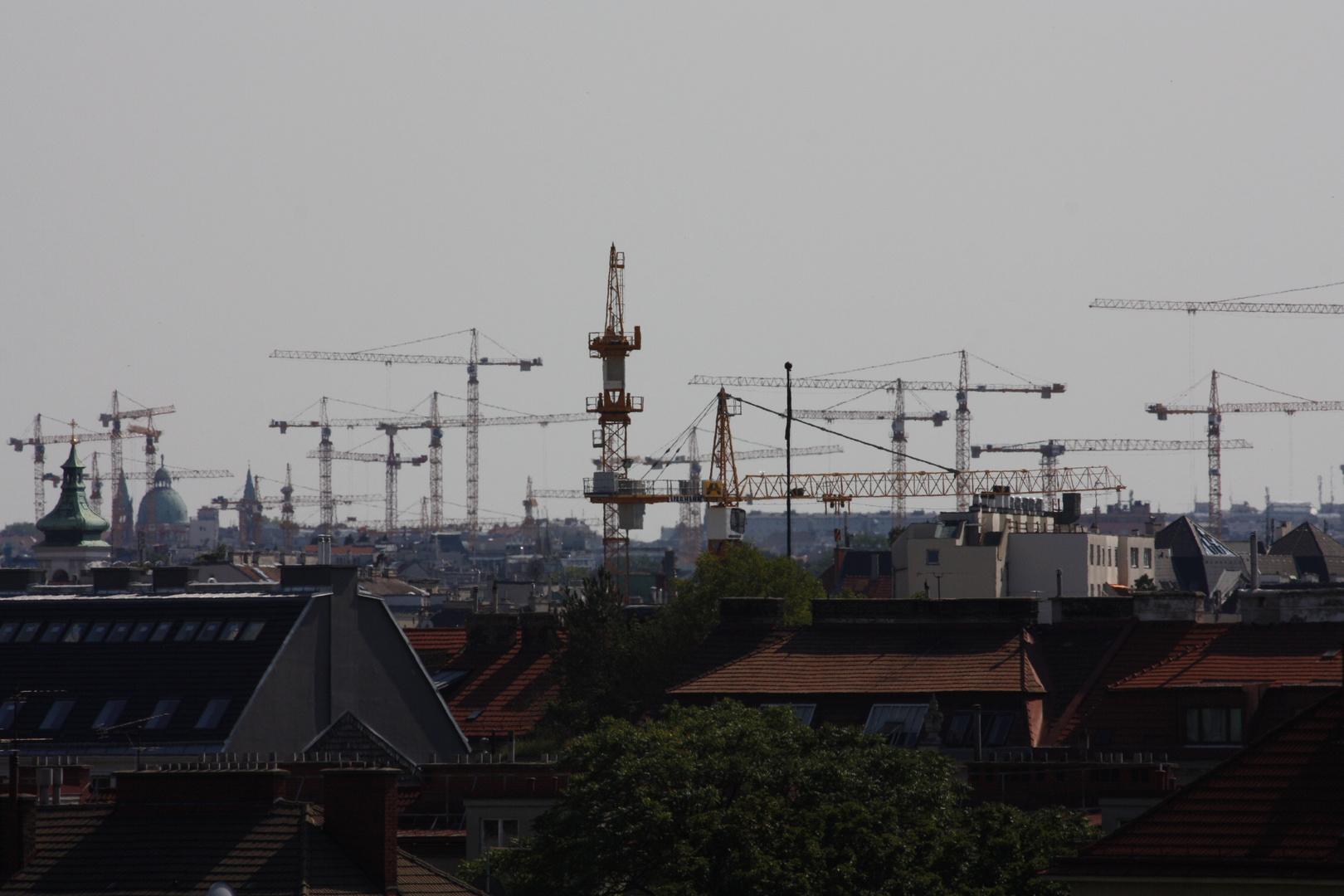 Stadtbau und der Krahnverkehr