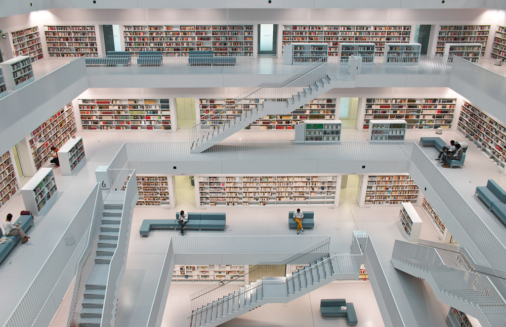 Stadtbibliothek Stuttgart...