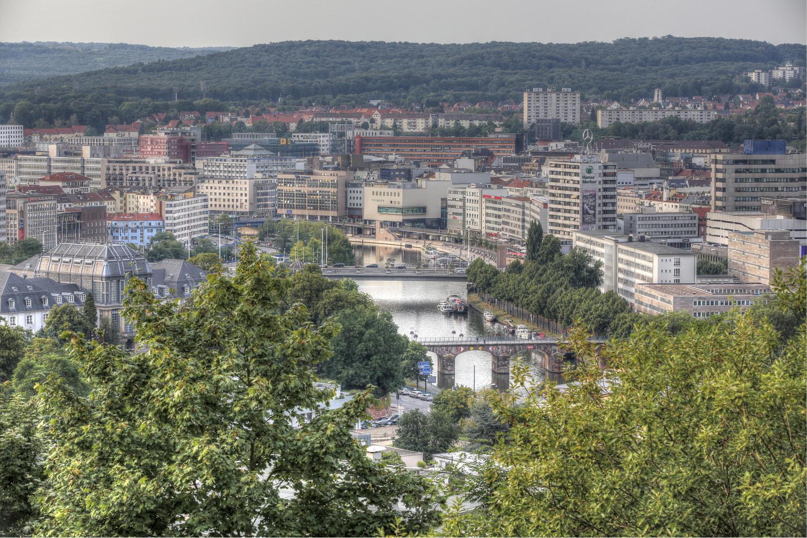 Stadtbild Saarbrücken