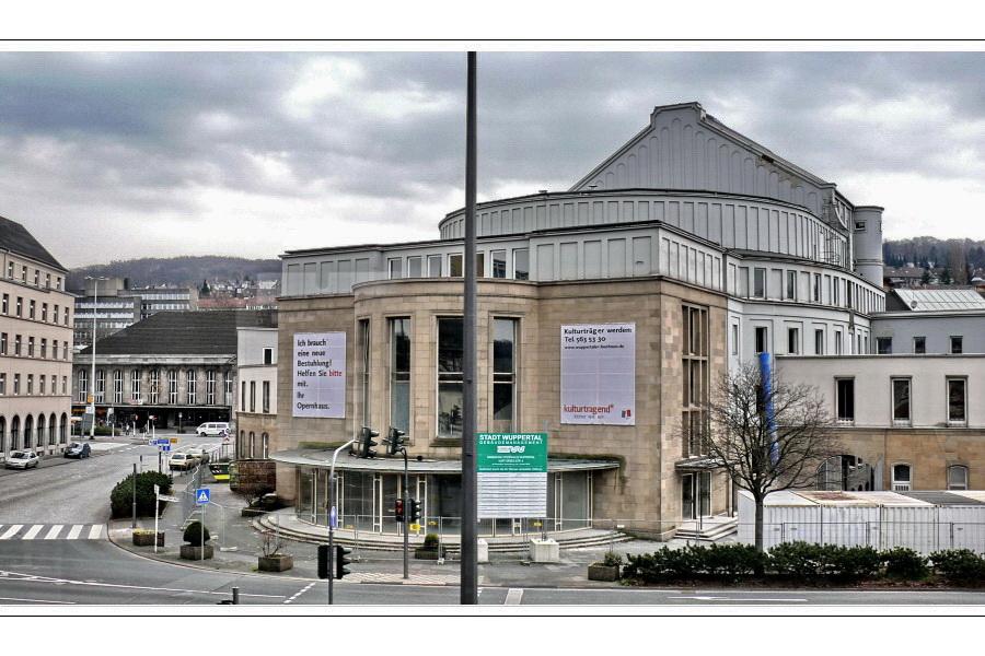 Stadtbild Wuppertal 46 (Opernhaus)