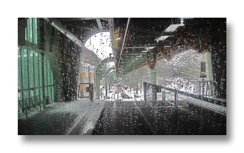 Stadtbild Wuppertal 68 ... abfahrt Hammerstein, Richtung West