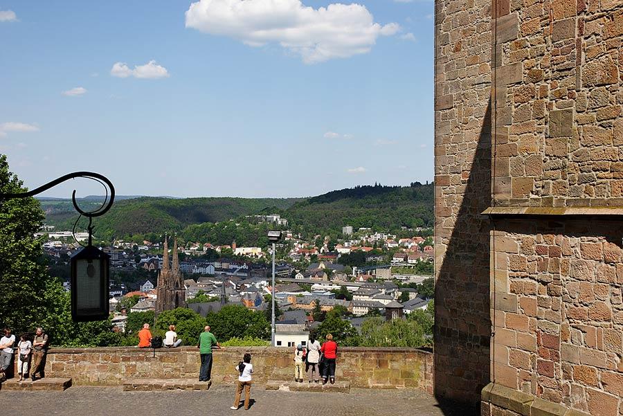 Stadtblick vom Schloss