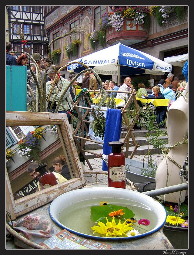 Stadtfest in Tübingen - 35mm von Harald Frings