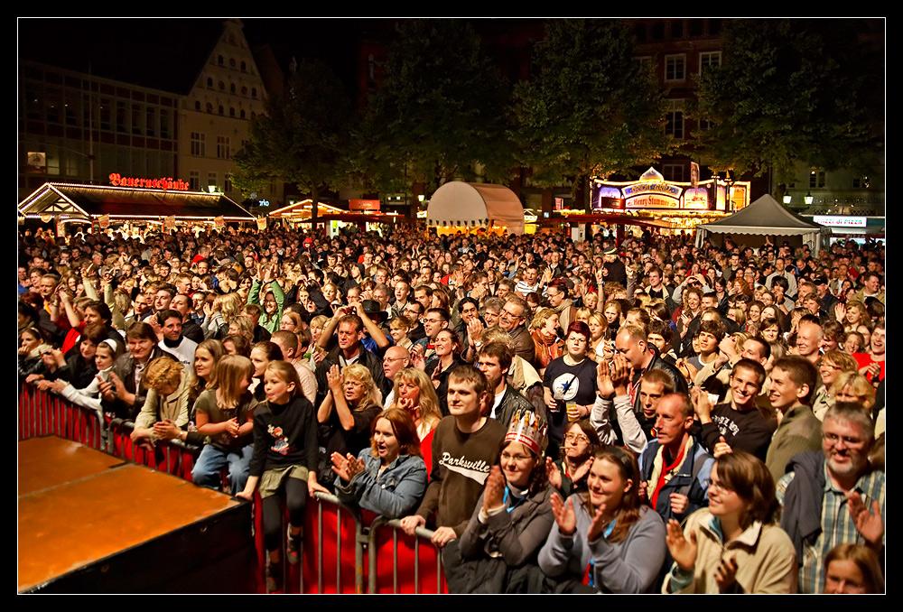 Stadtfest Lüneburg 2008 @ night