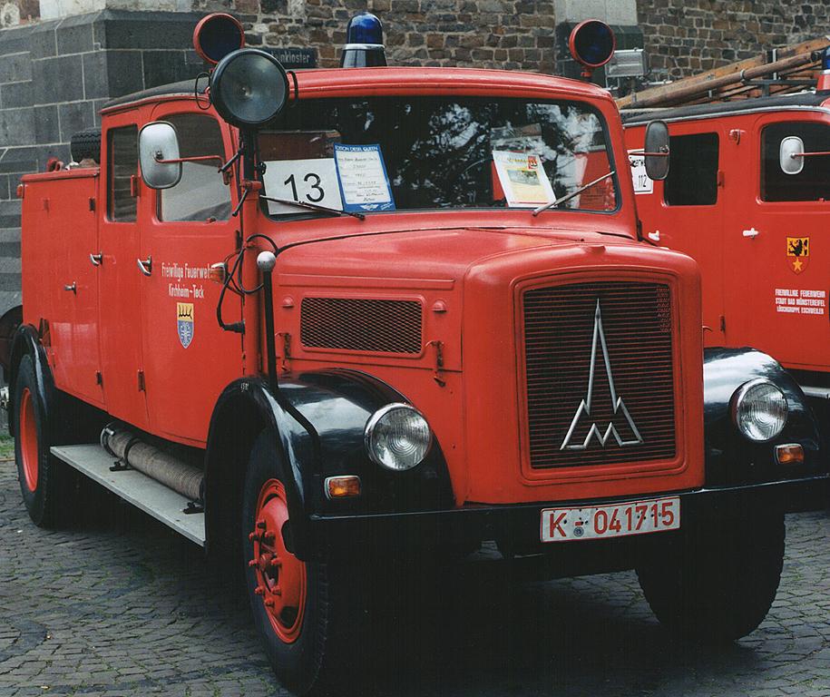 Stadtfeuerwehrtag 1997-Magirus KHD 3000