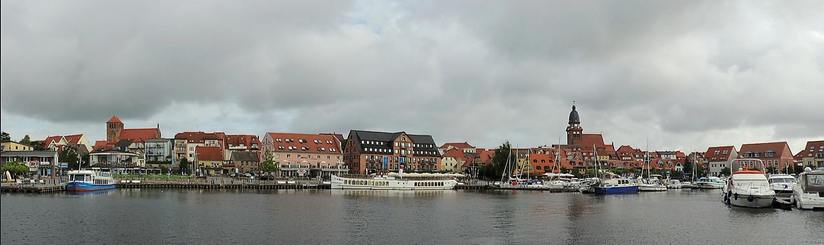 Stadthafen in Waren