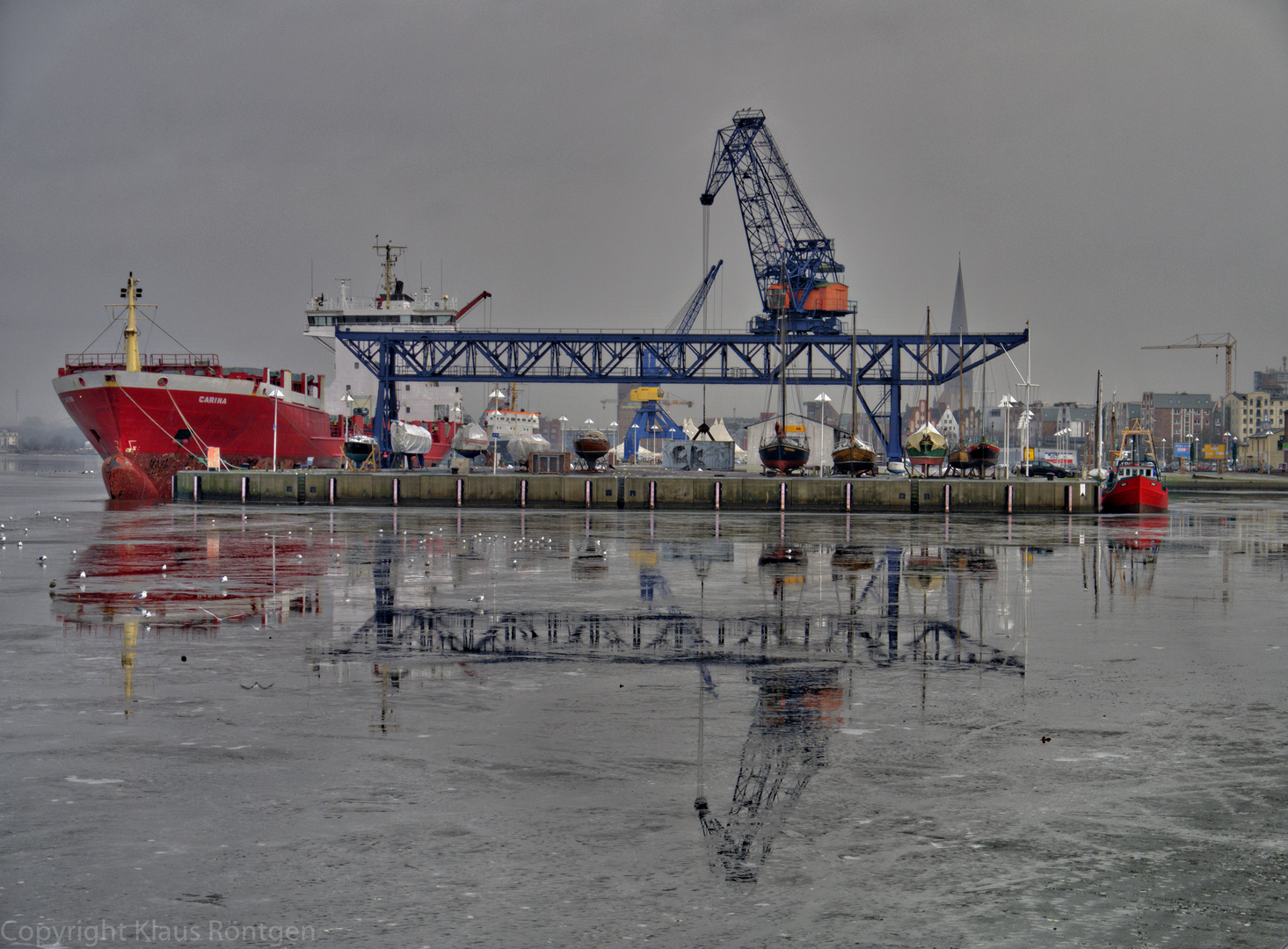 Stadthafen Rostock (HDR)
