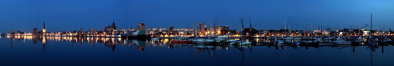 Stadthafen Rostock Panorama