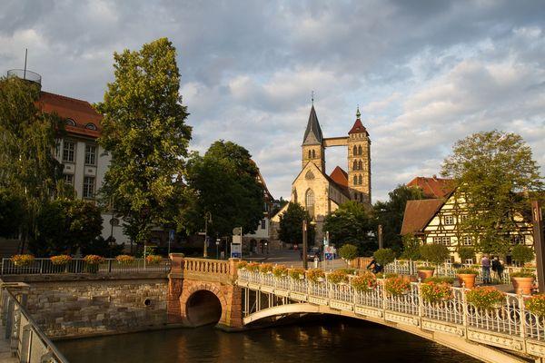 Stadtkirche - angestrahlt
