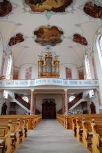 Stadtkirche Ettenheim Innenansicht 2