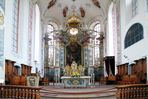 Stadtkirche Ettenheim Innenansicht