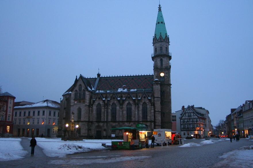 Stadtkirche (ev.-luth.) - vom Markt aus