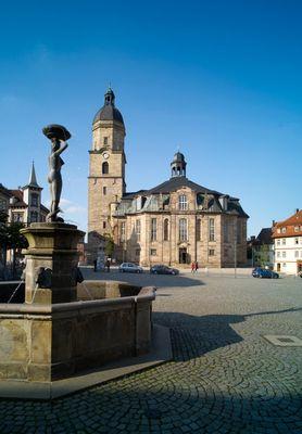 Stadtkirche in Waltershausen (Thüringen)