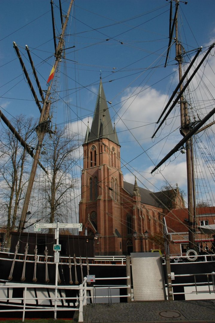 Stadtkirche von Papenburg