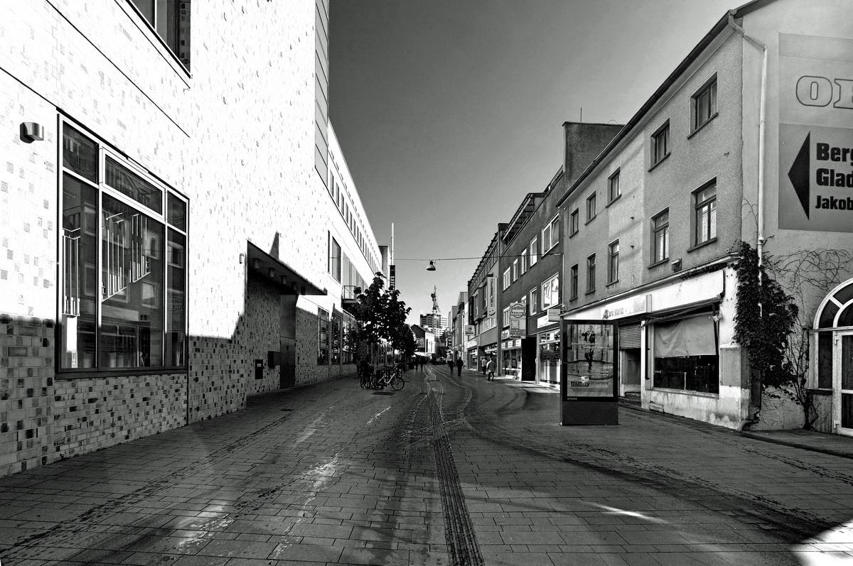 Stadtlandschaft Bergisch Gladbach Hauptstrasse