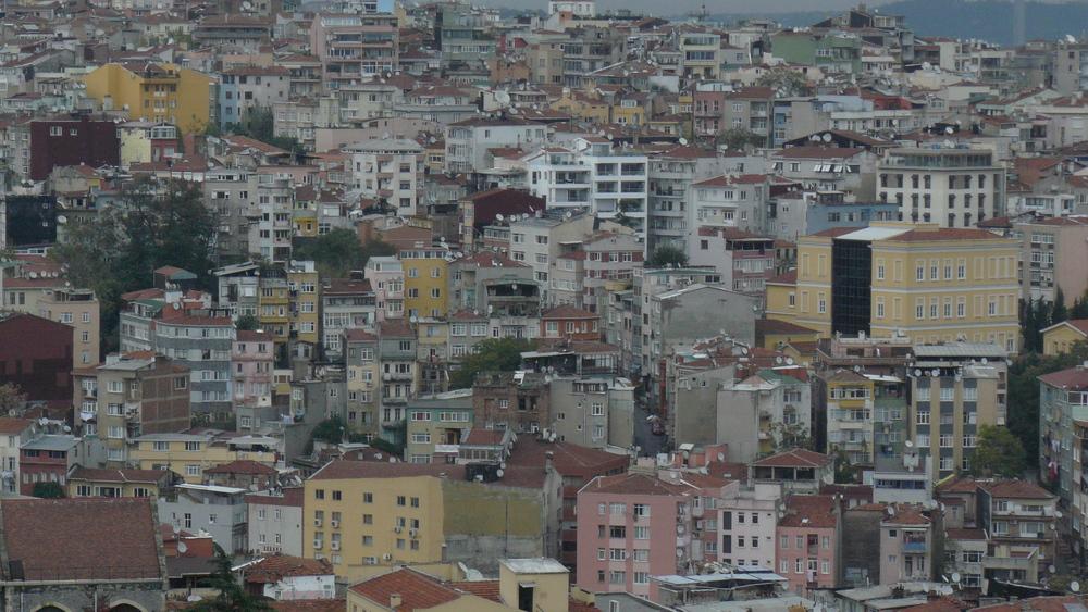 Stadtlandschaft Istanbul