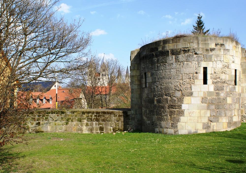 Stadtmauer Halberstadt