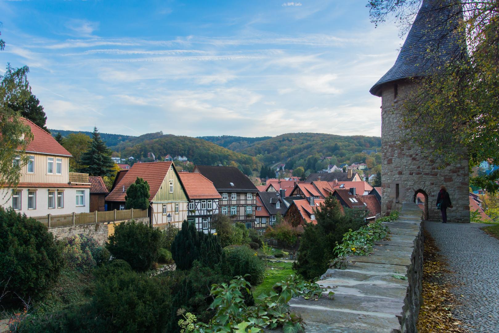 Stadtmauer I - Wernigerode/Harz