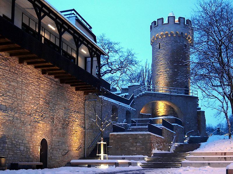 Stadtmauer in Jena 1
