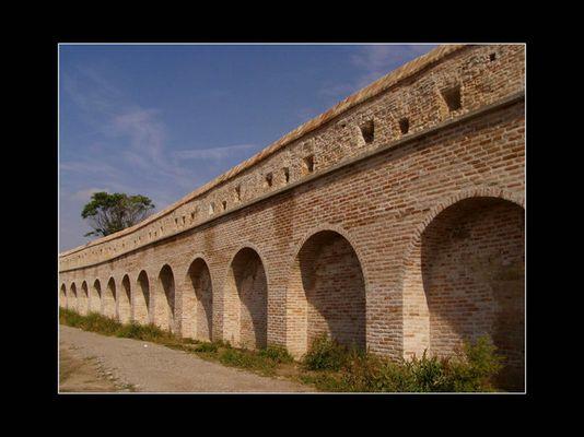 Stadtmauer in Trnava