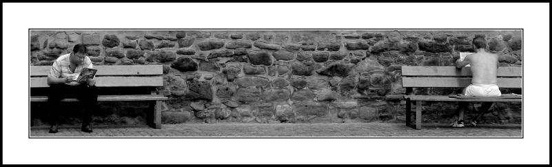 -#----.................----#-, Stadtmauer, Nürnberg 2002