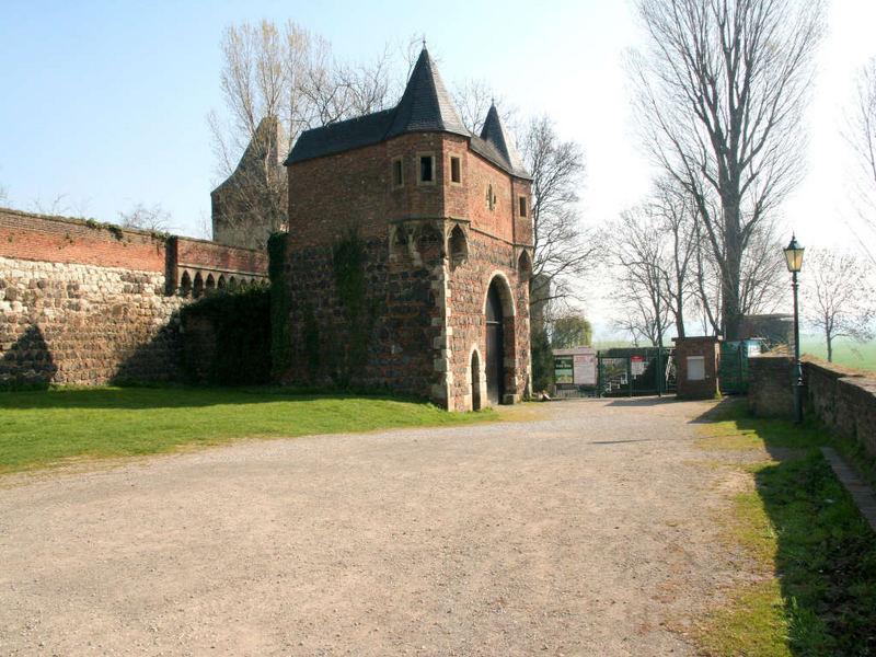 Stadtmauer und Zwinger
