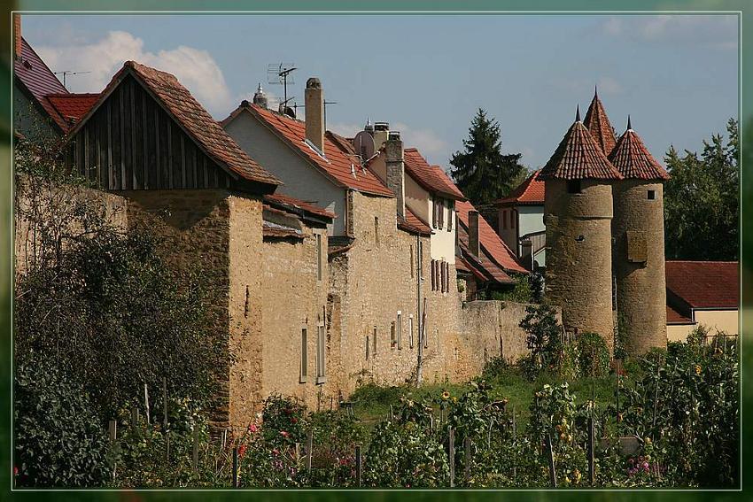 Stadtmauer von Mainbernheim Ufr