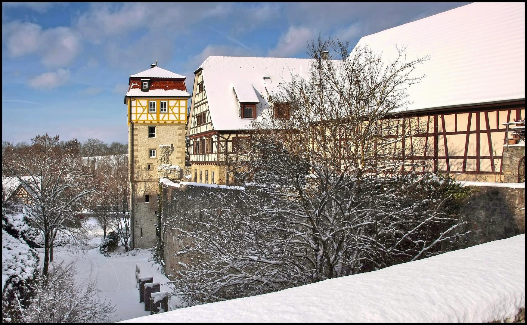 Stadtmauer von Vellberg