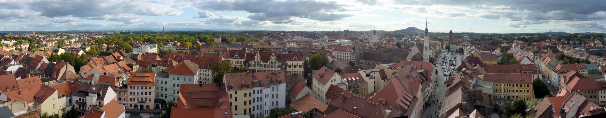 Stadtpanorama Görlitz Süd