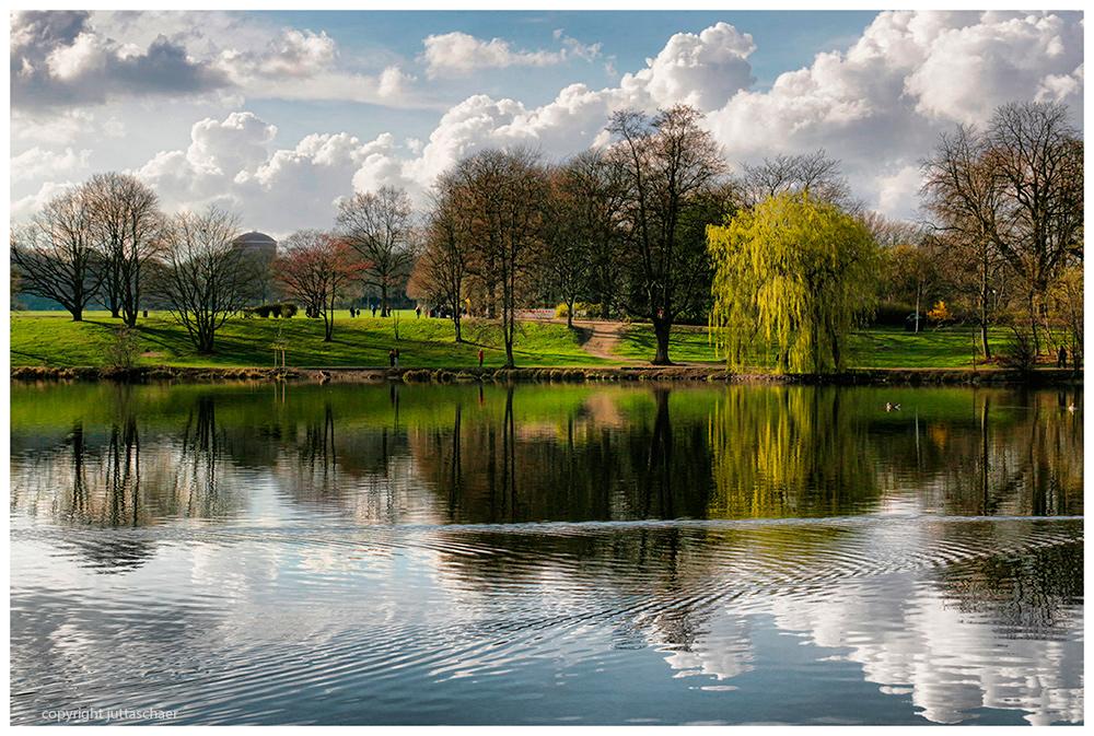 Stadtpark im März