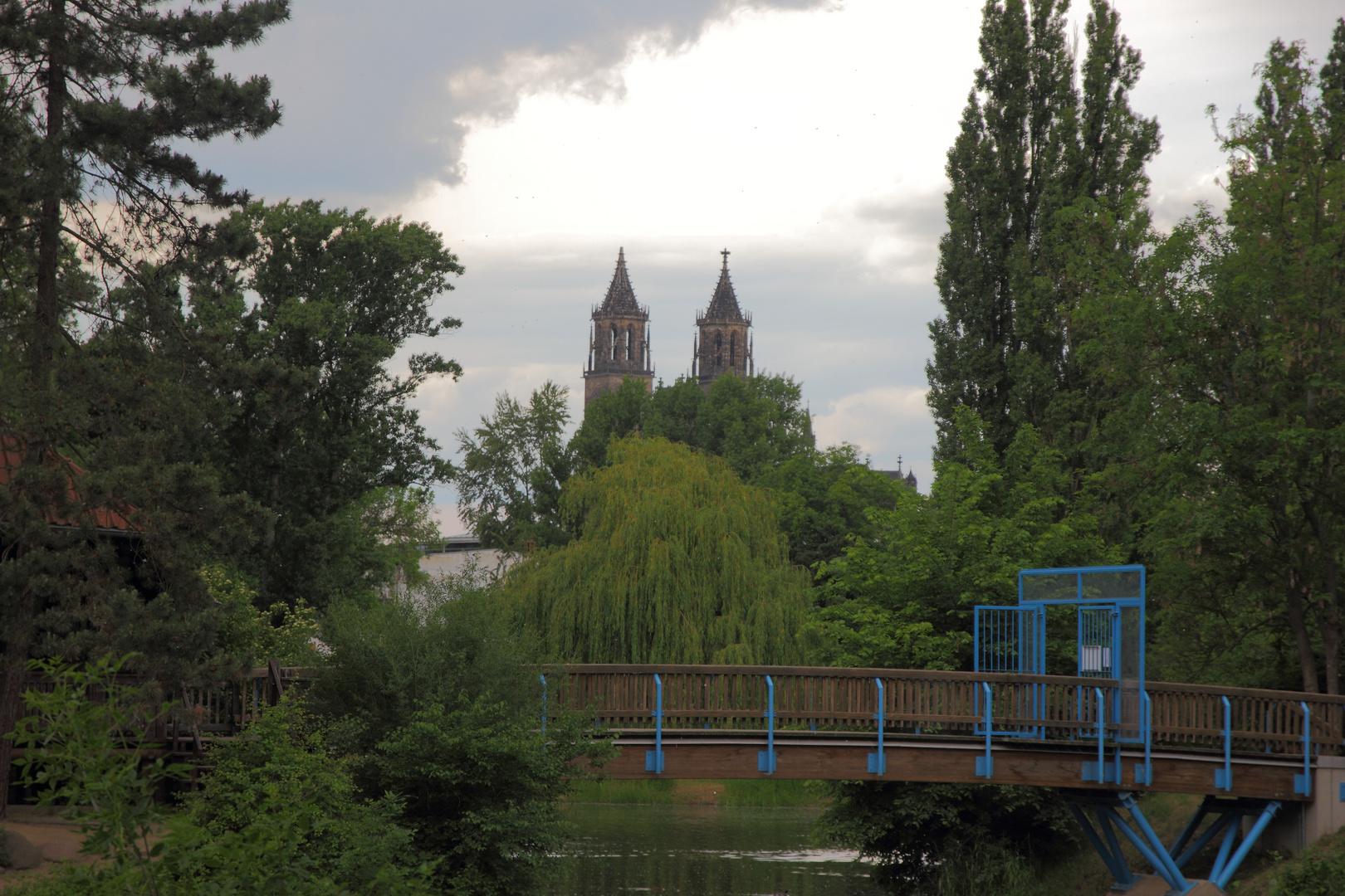 Stadtpark Magdeburg 3