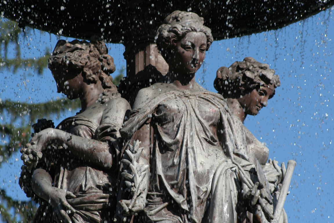 Stadtparkbrunnen - Detail