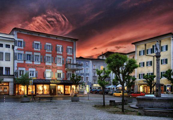 Stadtplatz von Laufen