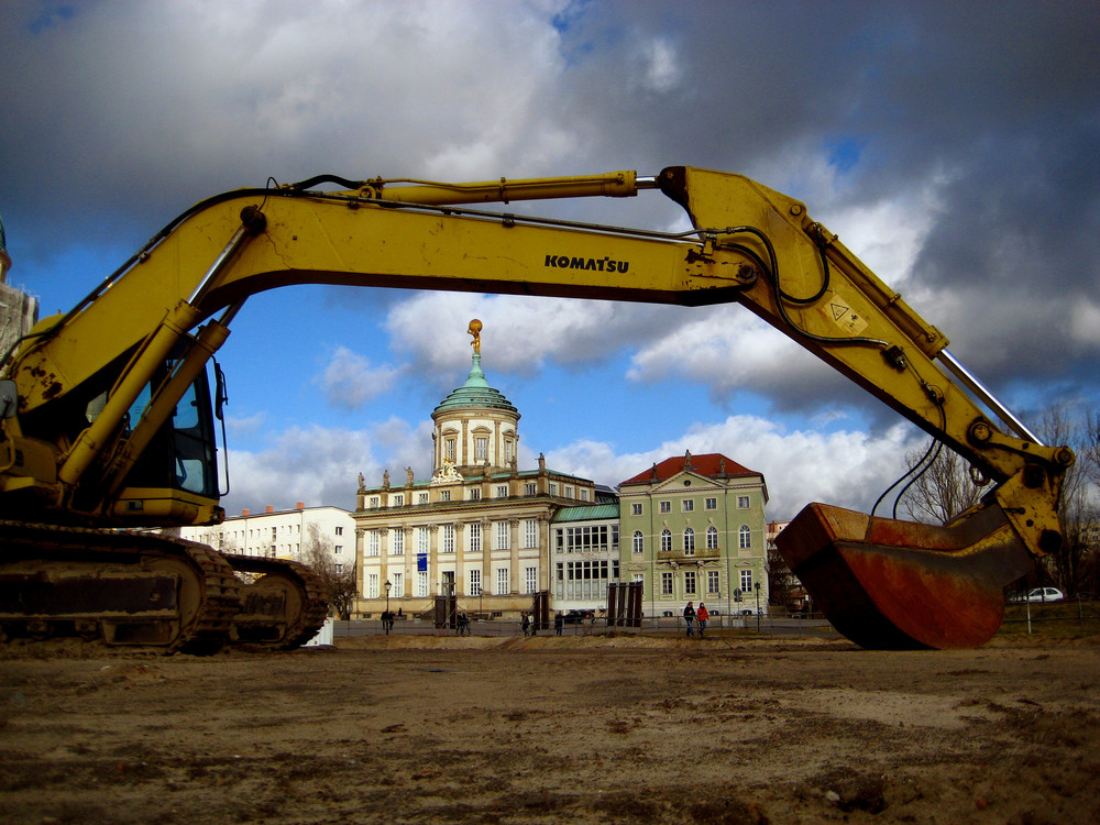 Stadtschloß Potsdam (Baustelle)