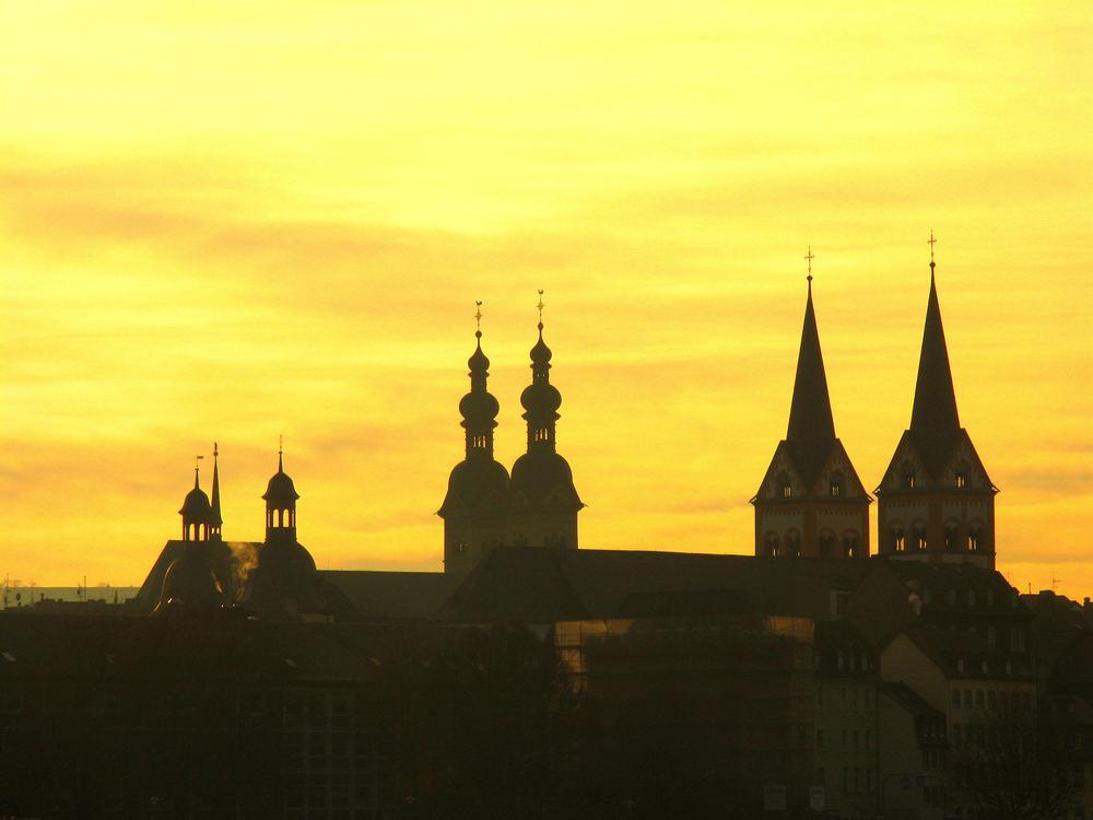 Stadtsilhouette Koblenz