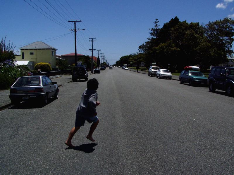 Stadtstraßen in Neuseeland