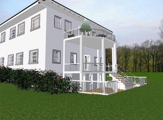 Stadtvilla in Planung Berlin Wannsee Design von Judy  Bungs www.wohlfuehl-wohnen.de.tl