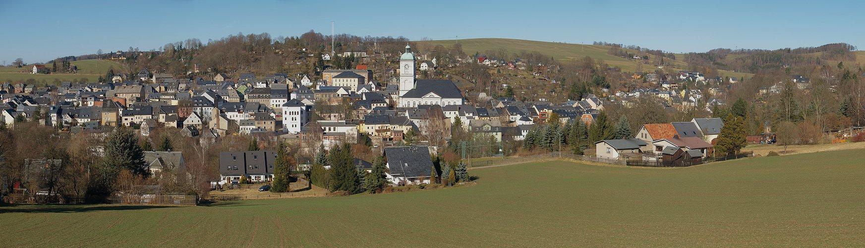 Stadtzentrum Lößnitz