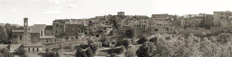 Städtchen in der Toskana